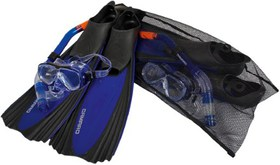 Camaro Professional Mask, Snorkel and Fin Set