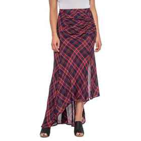 Boundless North Hi-Low Ruched Skirt (For Women) in