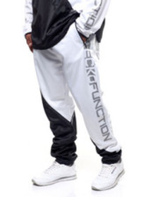 Ecko brushed poly tricot a-line jogger (b&t)