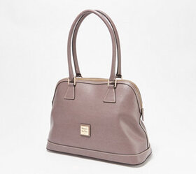 Dooney & Bourke Saffiano Leather Satchel - Shaina