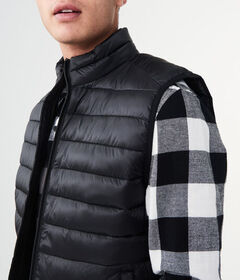 Aeropostale Quilted Puffer Vest