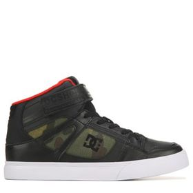 DC Shoes Kids' Court Pure High Top Sneaker Pre/Gra