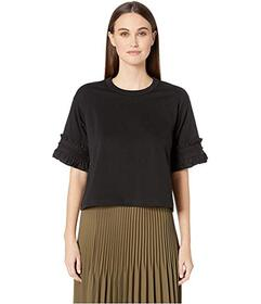 See by Chloe Embellished Sleeve T-Shirt