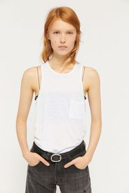 Truly Madly Deeply Racerback Pocket Tank Top