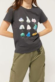 BDG Crystals Of the World Chart Tee