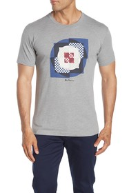 Ben Sherman Square Target Graphic T-Shirt