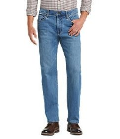 Jos Bank Reserve Collection Relaxed Fit Jeans - Bi