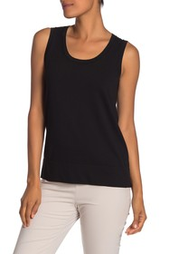 Lafayette 148 New York Sheer Trim Tank