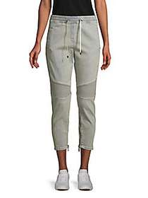 Balmain Tapered Cropped Pants DENIM