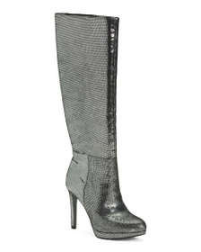 NINE WEST Suede High Shaft Boots