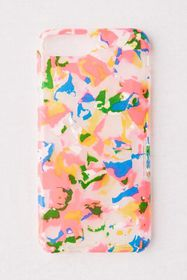 Neon Pink Collage iPhone Case