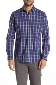 Robert Graham Jenson Plaid Long Sleeve Tailored Fi