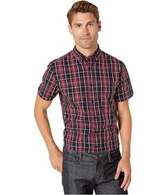 Ben Sherman Short Sleeve Tonal Plaid Shirt