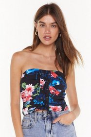 Nasty Gal Womens Black This is Flower Moment Flora