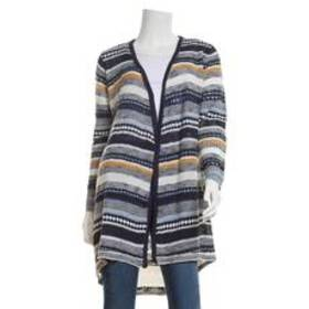 Juniors Almost Famous™ Pointelle Striped Duster Ca