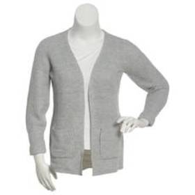 Juniors Almost Famous™ Solid Open Front Cardigan w