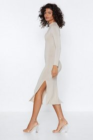 Nasty Gal Womens Stone Number One Hit Bodycon Dres