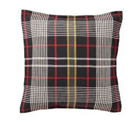 Pottery Barn Carson Plaid Cotton Shams