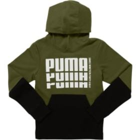 Puma Little Kids' Terry Pullover Hoodie