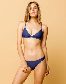 FULL TILT Skimpy Medium Blue Bikini Bottoms_
