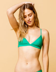 FULL TILT Fixed Triangle Kelly Bikini Top_