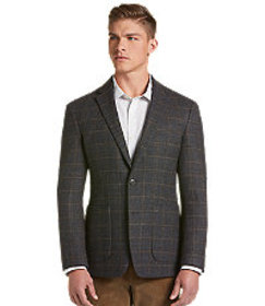 Jos Bank 1905 Collection Slim Fit Windowpane Sport