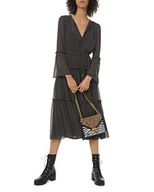 MICHAEL Michael Kors - Tiered Ruffled Polka Dot Mi