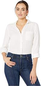Jag Jeans Long Sleeve Adley Double Cloth Button-Up