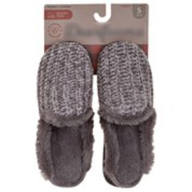 Womens Sweater Knit Slippers