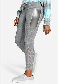 Justice Shine & Mesh Leggings