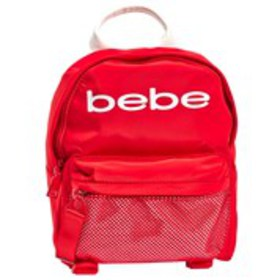 BEBE Bebe Melodia Nylon Mesh Dome Mini Backpack