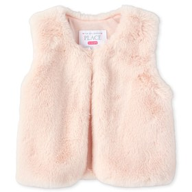 Toddler Girls Faux Fur Vest