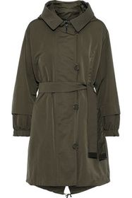 MAX MARA Faillep reversible belted shell hooded pa