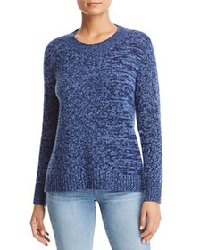 C by Bloomingdale's - Marled Cashmere Sweater - 10