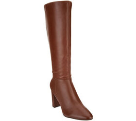 Marc Fisher Leather Tall Shaft Boots - Zimra - A34