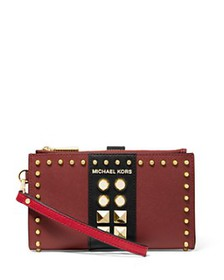 MICHAEL Michael Kors - Jet Set Studded Double-Zip