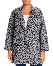 MICHAEL Michael Kors Plus - Brushed Leopard-Print