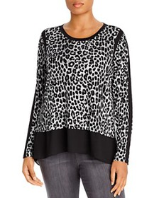 MICHAEL Michael Kors Plus - Woven Layered Blouse