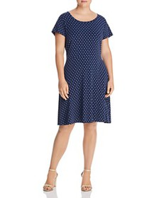 MICHAEL Michael Kors Plus - Mod Dot Fit-and-Flare