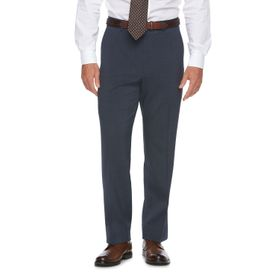 Big & Tall Chaps Classic-Fit Performance Flat-Fron