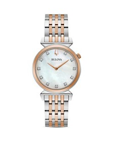 Bulova - Regatta Diamond Slim Watch, 30mm