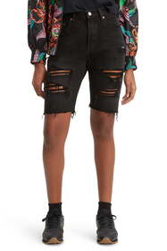 Levi's 501 Ripped Slouch Shorts