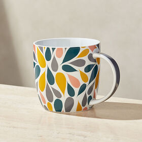 Crate Barrel New Mod Burst Mug