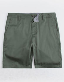 BLUE CROWN Slim Sage Mens Chino Shorts_