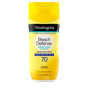 Neutrogena Beach Defense Body Sunscreen Lotion wit