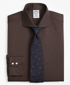 Brooks Brothers Regent Fitted Dress Shirt, Texture