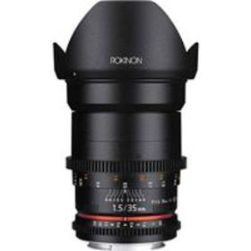 Rokinon 35mm T1.5 Cine VDSLR Wide-Angle Lens for N