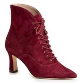 NINE WEST Nine West Callah Womens Suede Lace-Up Bo