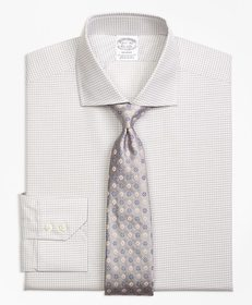 Brooks Brothers Regent Fitted Dress Shirt, Sidewhe