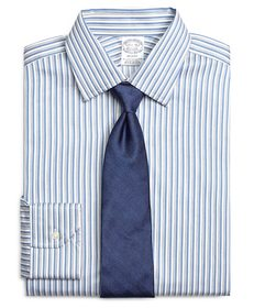 Brooks Brothers Regent Fitted Dress Shirt, Heather